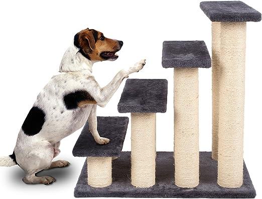 pedy Animales Gato Escaleras Escalera Easy Step Mascotas Escaleras Pet Walk Animales Rampa Escaleras para Gato einstieg Ayuda Sisal Placa de Superficie: Amazon.es: Productos para mascotas