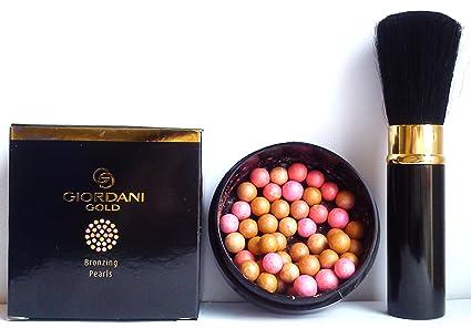 oriflame giordani gold bronzing pearls natural radiance 25g
