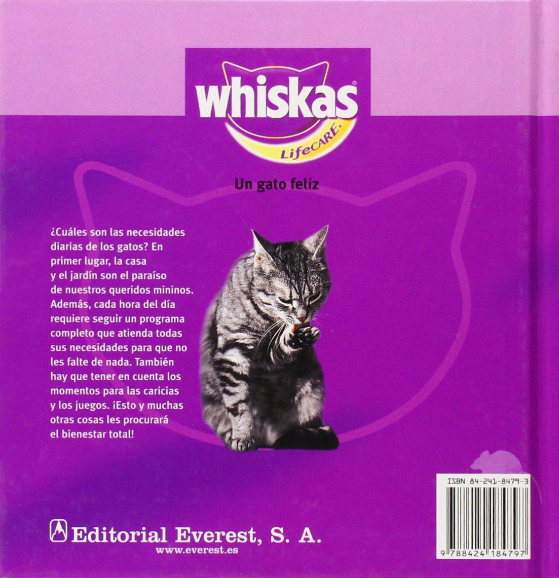 Un gato feliz. Cómo conseguir que se sienta a gusto Whiskas: Amazon.es: Rittrich-Dorenkamp Sigrun: Libros