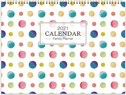 Calendrier Familial 2021   L'organisateur Familial de janvier 2021