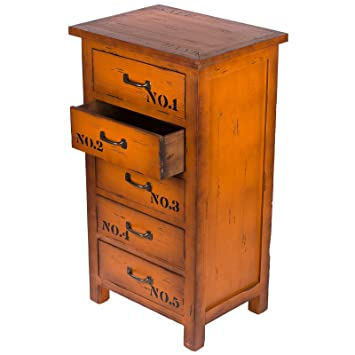 Kleinmobel Fg A 54 Kommode Hoher Teeschrank Holz Telefontisch