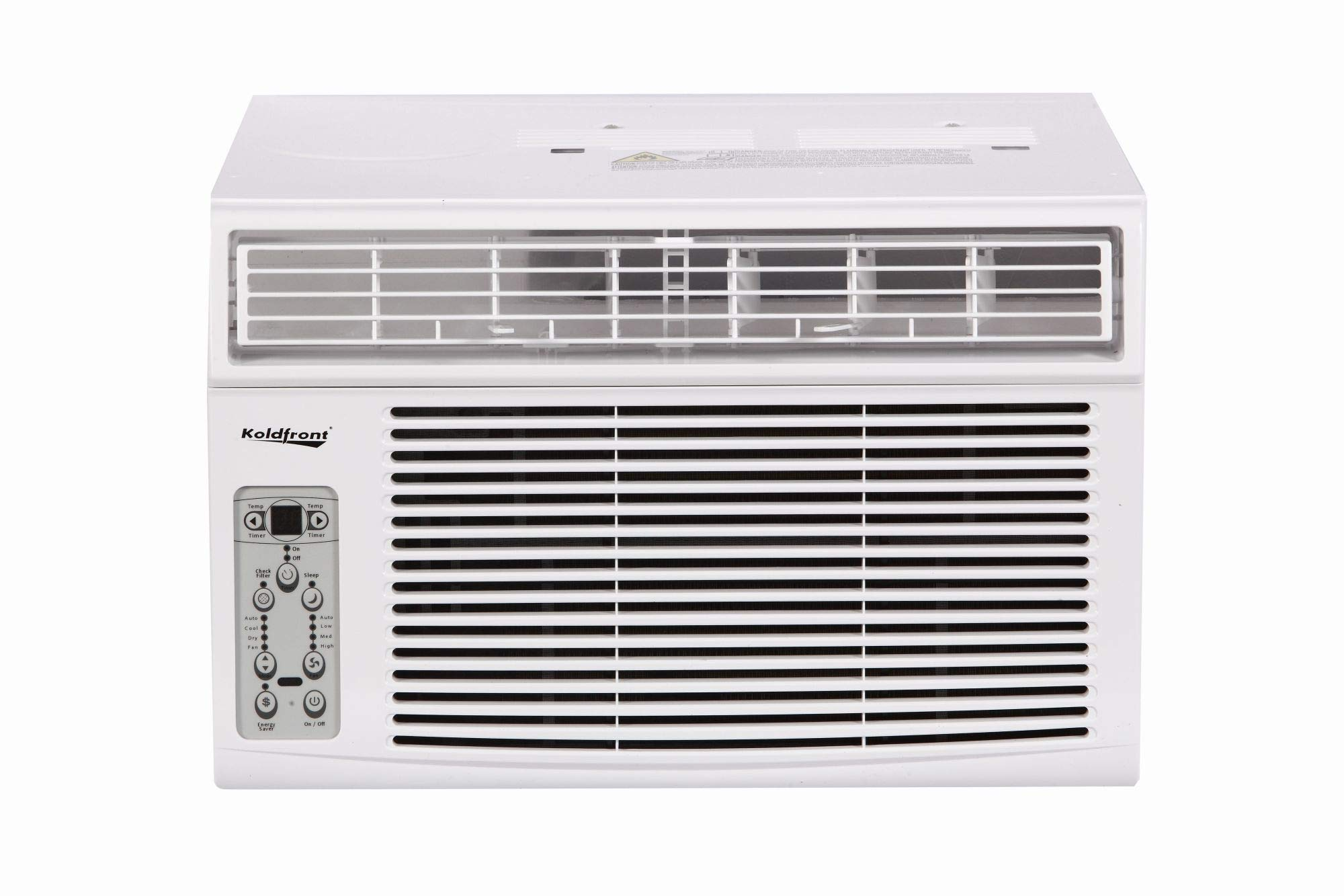 Koldfront WAC8003WCO 8000 BTU 115V Window Air Conditioner with Dehumidifier and Remote Control by Koldfront
