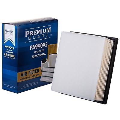 PG Air Filter PA99095| Fits 2016-18 Fiat 500X, 2015-20 Jeep Renegade 2.4L, 2020-20 Compass 2.4L, 2015-20 Ram ProMaster City 2.4L: Automotive