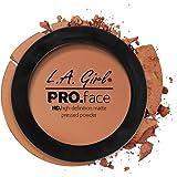 L A Girl HD Pro Face Pressed Powder, Cocoa, 7g