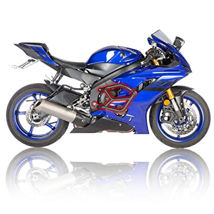 Amazon com: Yamaha R6 2017- R-Gaza No Cut Street Cage Crash