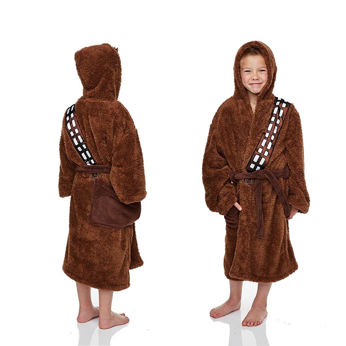 110a1035c9 Unisex Chewbacca Bathrobe Brown - Medium - 7-9 Years  Amazon.co.uk  Clothing