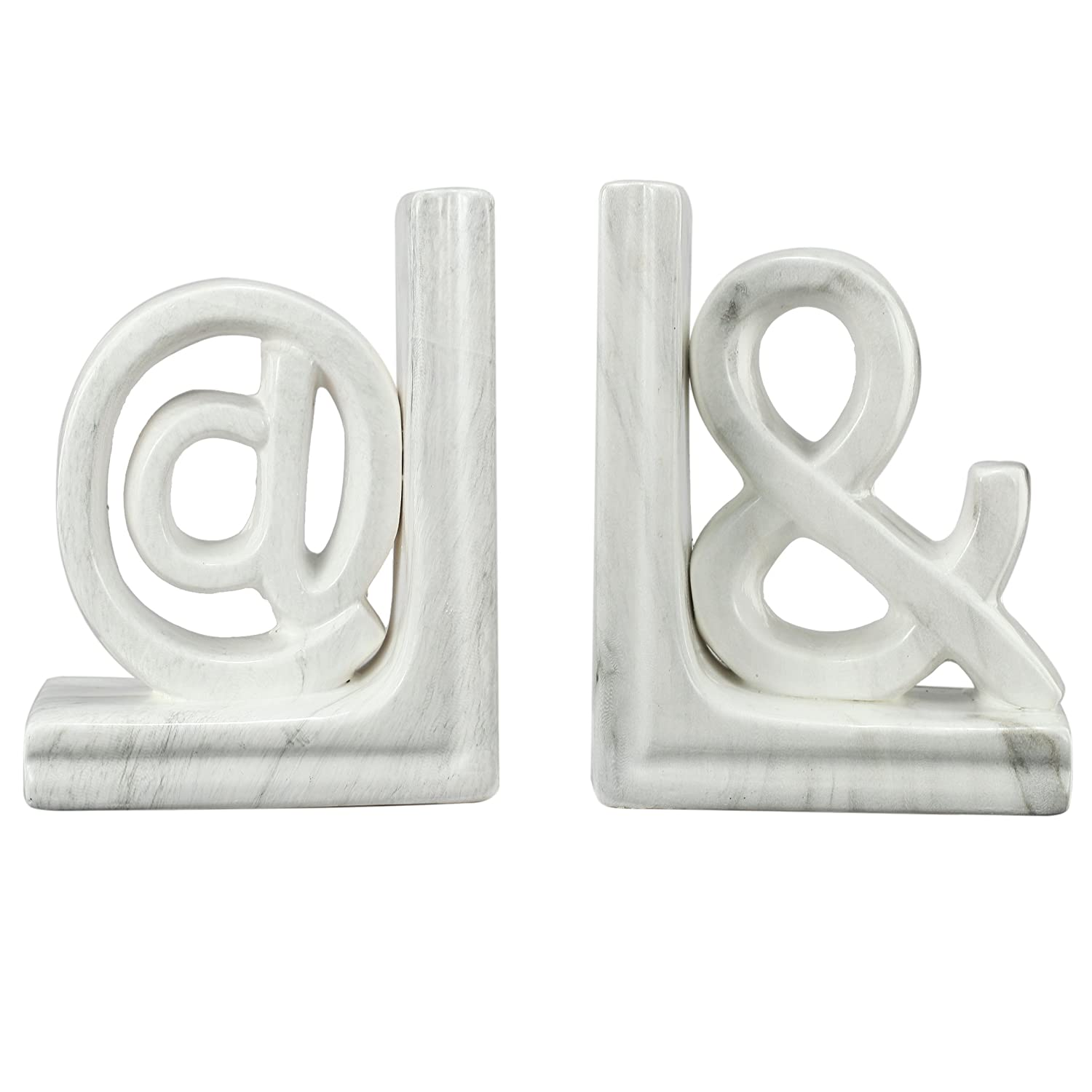 A&B Home Set of 2 Character Bookends
