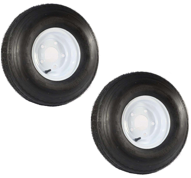 Amazon.com: 2-PK ecustomrim remolque neumático y borde 570 ...
