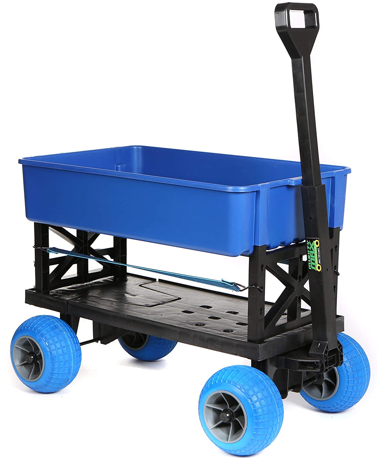 Equipment Carts and Wagons Rolling 4 Wheel Pull behind Cooler Ice Chest Garden Cart
