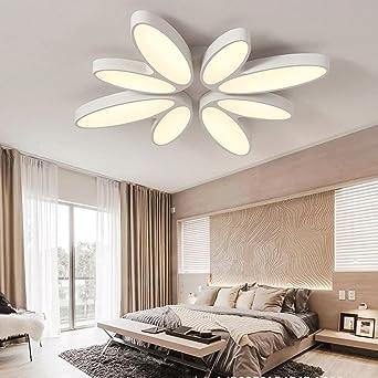 Modern Exquisit LED Deckenleuchten Kreativ Blume Und Blätter Entwurf Für  Gils Schlafzimmer Wohnzimmer Deckenlampe , Weiß