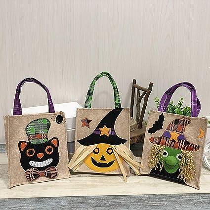 1pc Bolsas portátiles de Halloween,Bolsas de Regalos,Dulces ...