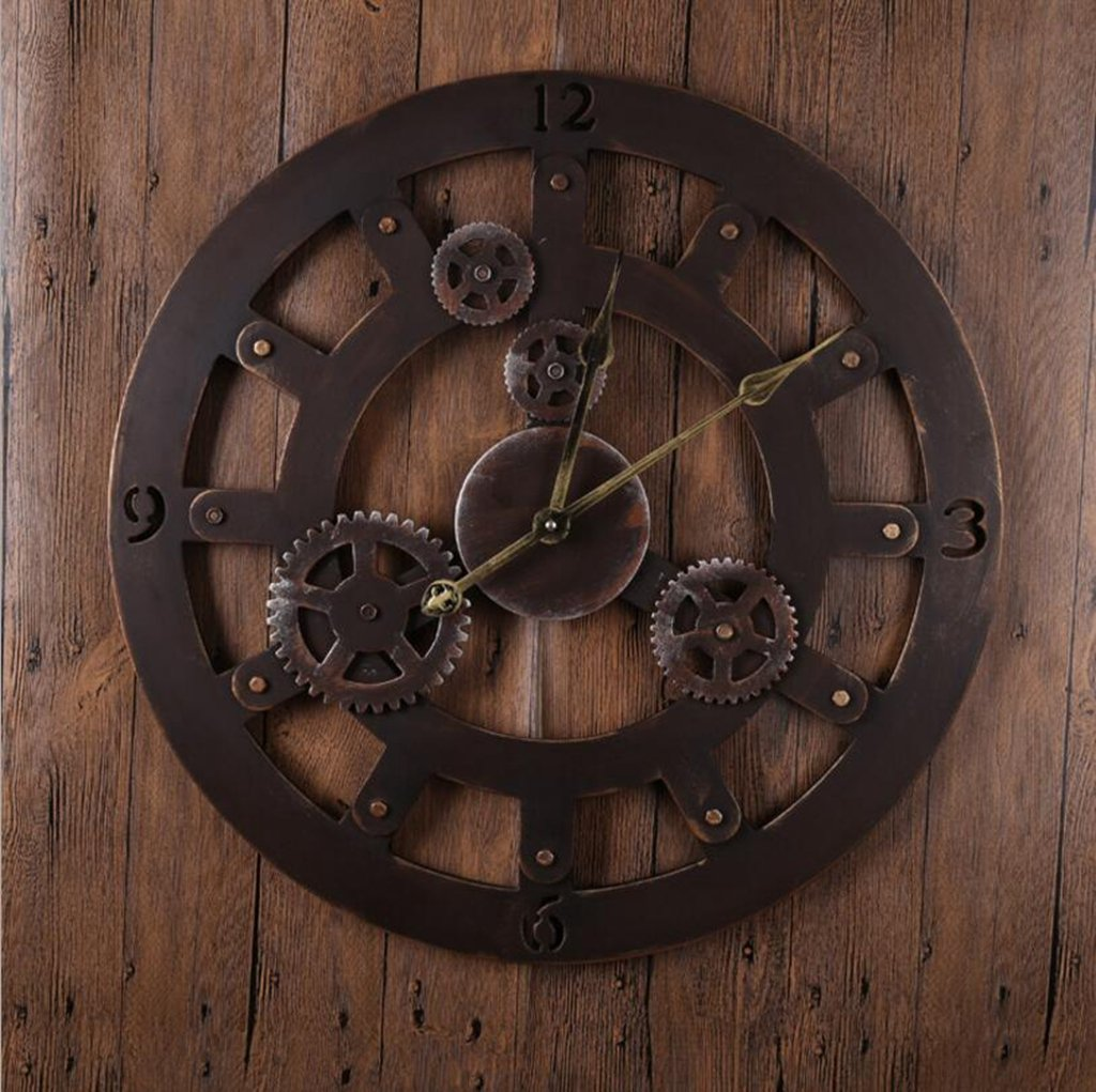 Sucastle Europe, Sepia, electronic, Gear Clock, Clock (Without battery) GXFC