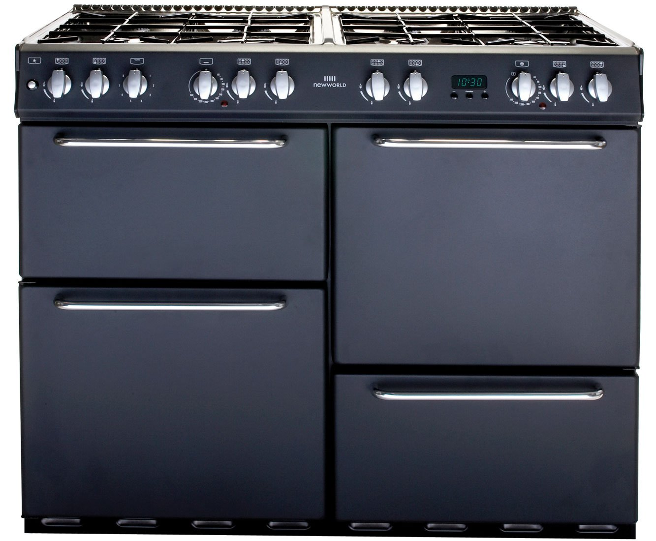 New World Kitchen Appliances Newworld Nw100gt Gas Range Cooker Free Standing Charcoal Amazon