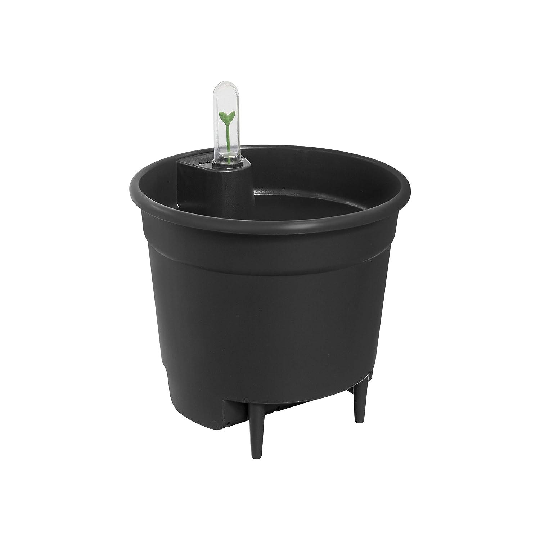 Elho - Sistema di Auto-irrigazione, Ø 24 cm, colore  Nero