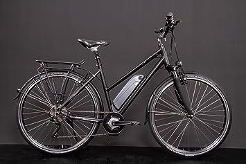 28 pulgadas Aluminio vaun Elena bicicleta de trekking E-Bike eléctrico Pedelec Motor Central