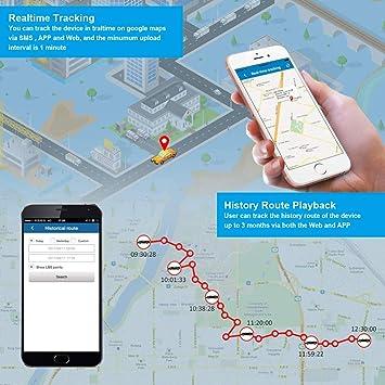 Amazon.com: Rastreador GPS Mini portátil antirrobo espía SOS ...