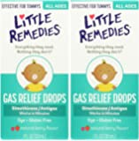 Little Remedies Tummy fqLfo Relief Drops, Natural Berry Flavor, 1 Ounce (2 Pack)