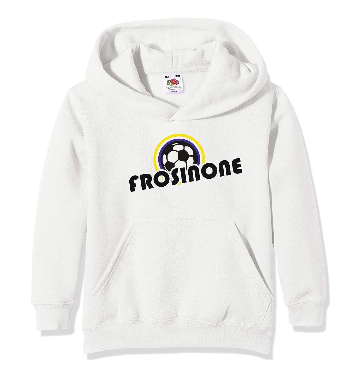 Settantallora - Felpa con Cappuccio Bambino J3163 Calcio Frosinone Fans KJ3163_bimbo