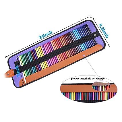 Amazon.com: Juego de lápices de colores, rock Ninja 50 ...