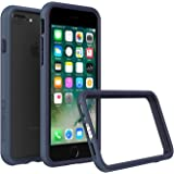 iPhone 8 Plus Case [Also fits iPhone 7 Plus] - RhinoShield [CrashGuard] Bumper [11 Ft Drop Tested] No Bulk [ShockProof Technology] Thin Lightweight Protection - Slim Rugged Cover - [Dark Blue]