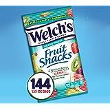Welch's Fruit Snacks, Island Fruits, Gluten Free, Bulk Pack, 1.55 oz, Pack of 144