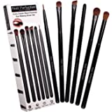 Makeup Brushes, Real Perfection 6 pcs Essential Makeup Brushes Set, Blending Eye Shadow Shader Eyebrow Eyeliner Brush Smudge