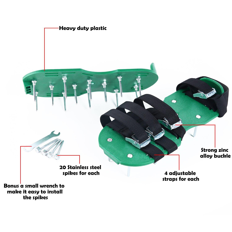 best lawn aerator shoe