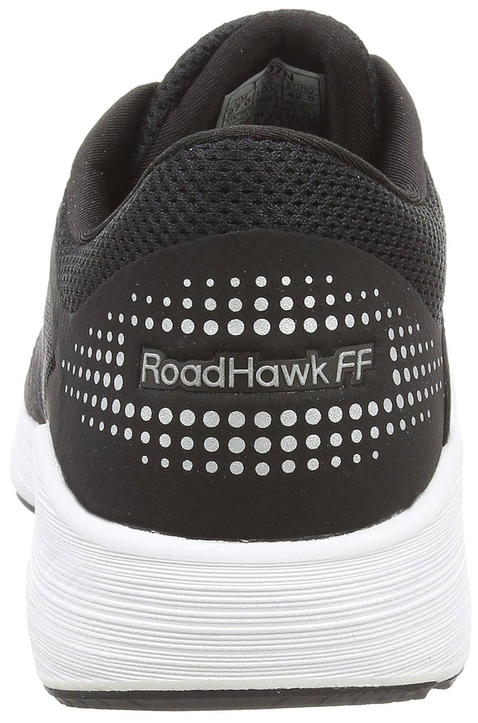 Asics Damen Roadhawk Schwarz Ff Laufschuhe, grau Schwarz Roadhawk (schwarzsilverWeiß 9093) 3848a4