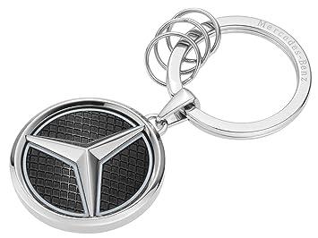 Mercedes-Benz Llavero Vegas, Color Plateado, Negro y Blanco ...