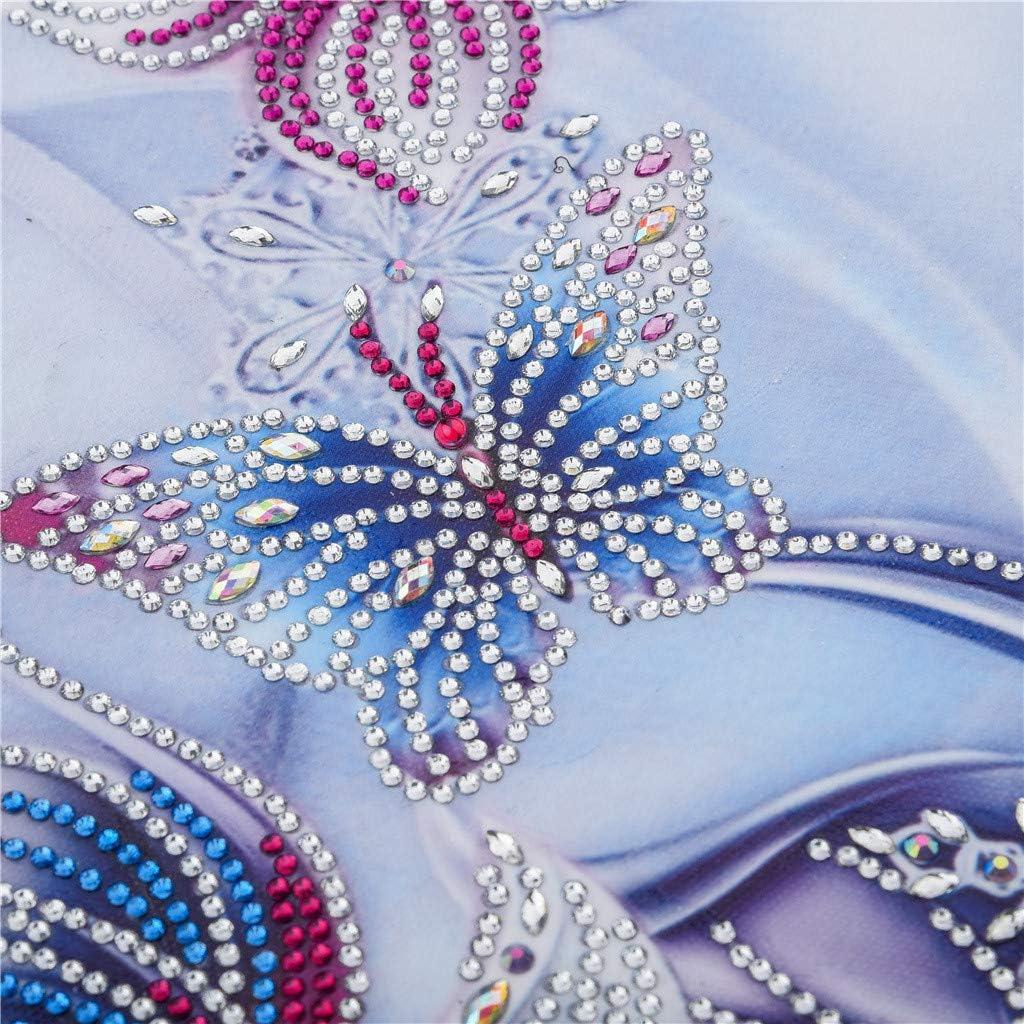 DIY 5D Diamond Painting,Diadia Special Shaped Crystal Rhinestone Diamond Embroidery Paintings Arts Partial Drill Cross Craft