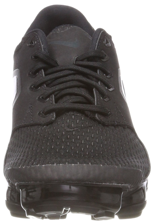 NIKE Kids' Grade School Air Vapormax Running Shoes (Black/Black/Black,5) by NIKE (Image #4)