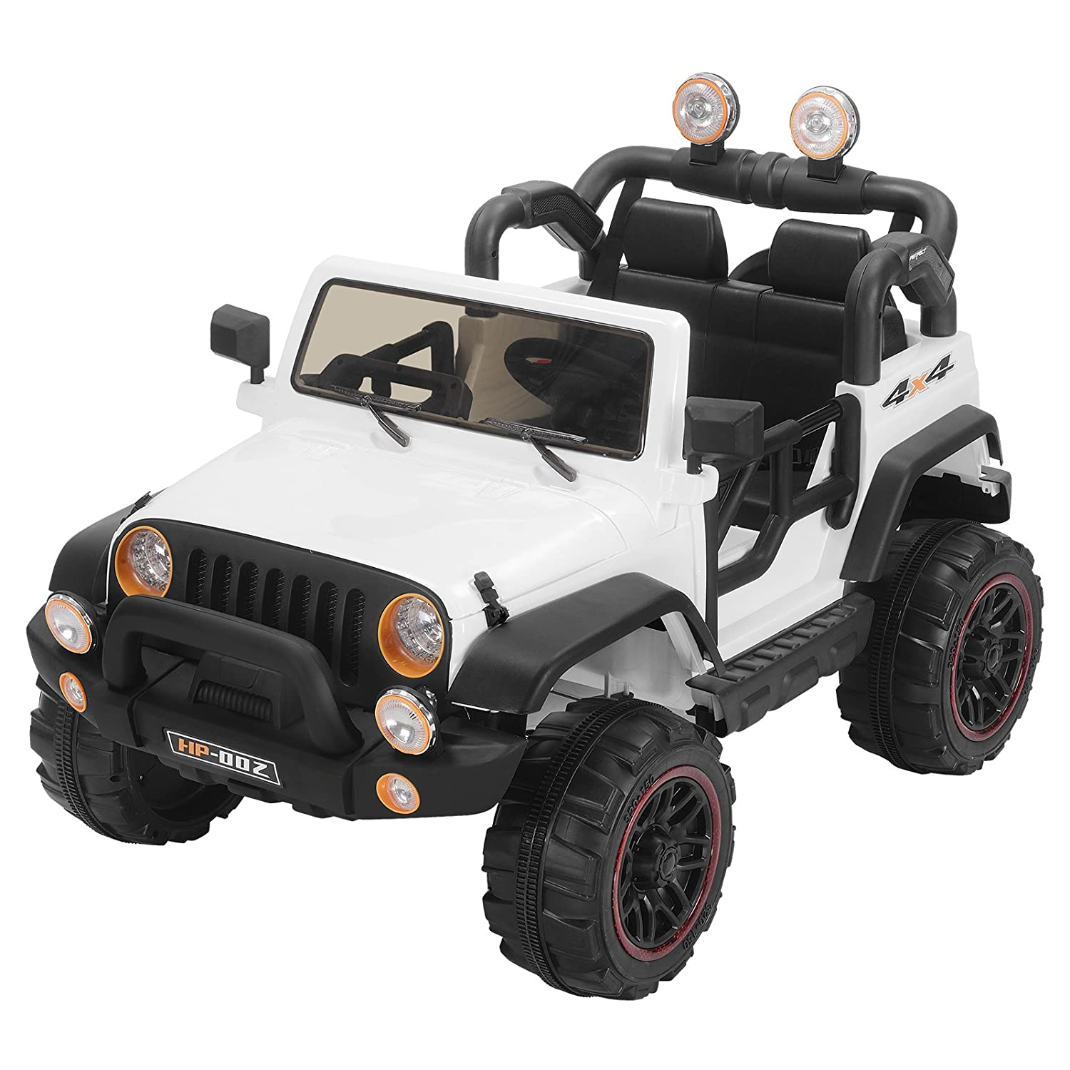 Murtisol Kids Power Wheels 12 V Electric Ride On Cars With Remote Control 2 Speed White by Murtisol