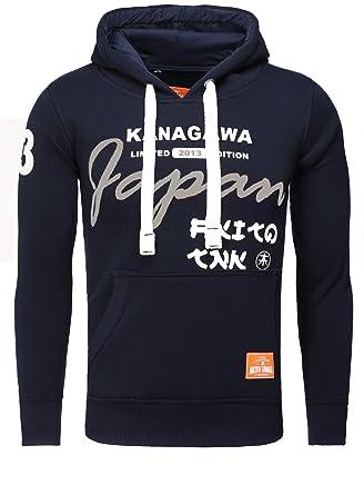 52e0e29ca18d Akito Tanaka Sweatshirt Kanagawa 13 Sweat  Amazon.de  Bekleidung