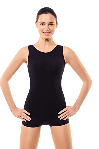 e6b734e09508d +MD Shapewear Tank Top Body Shaper Camisole Cami Workout for Tummy and Waist