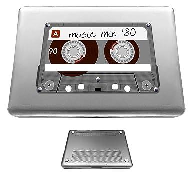 c0258 Novalty chistosa - cinta de cassette Retro diseño antiguo Macbook Air 33,78 cm