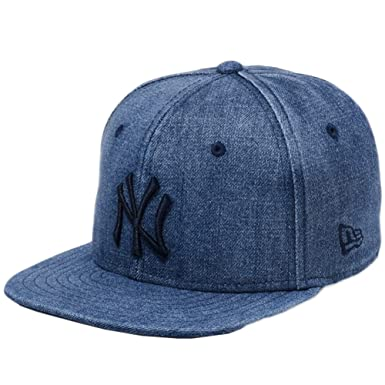 164e8cdb3d673 Amazon.co.jp: New Era(ニューエラ) 950 スナップバック チャイルドキャップ ニューヨークヤンキース 11557166  ウォッシュドデニム: 服&ファッション小物