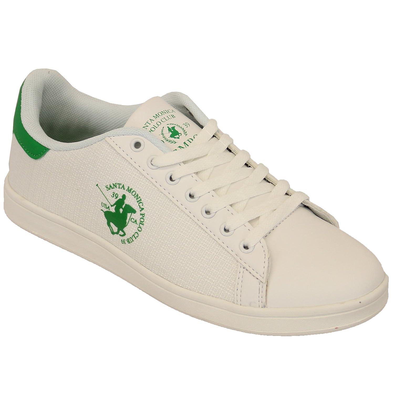 66af4ebee37e8 Amazon.com  Santa Monica Mens Polo Club Lace Up Shoes Trainers Pumps  Furman-Sanborn  Shoes