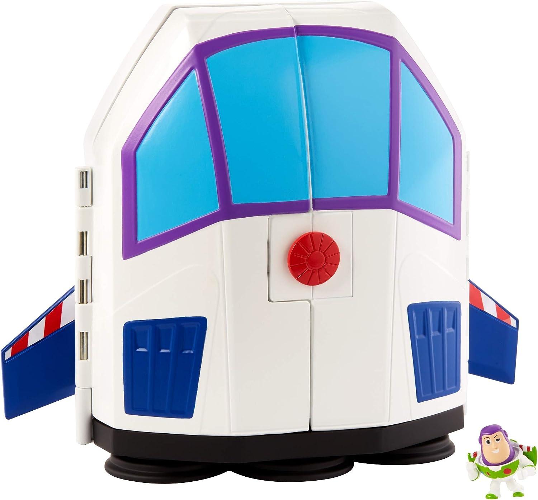 Mattel Disney Pixar Toy Story Buzz Lightyear Star Command jouet vaisseau spatial