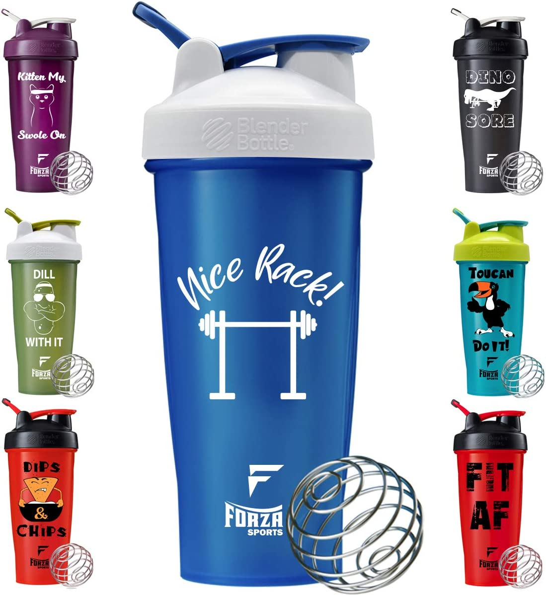 Forza Sports Blender Bottle 28 oz. Classic Shaker