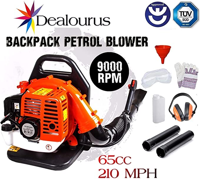 Dealourus 65cc Petrol Leaf Blower - Easy to Use