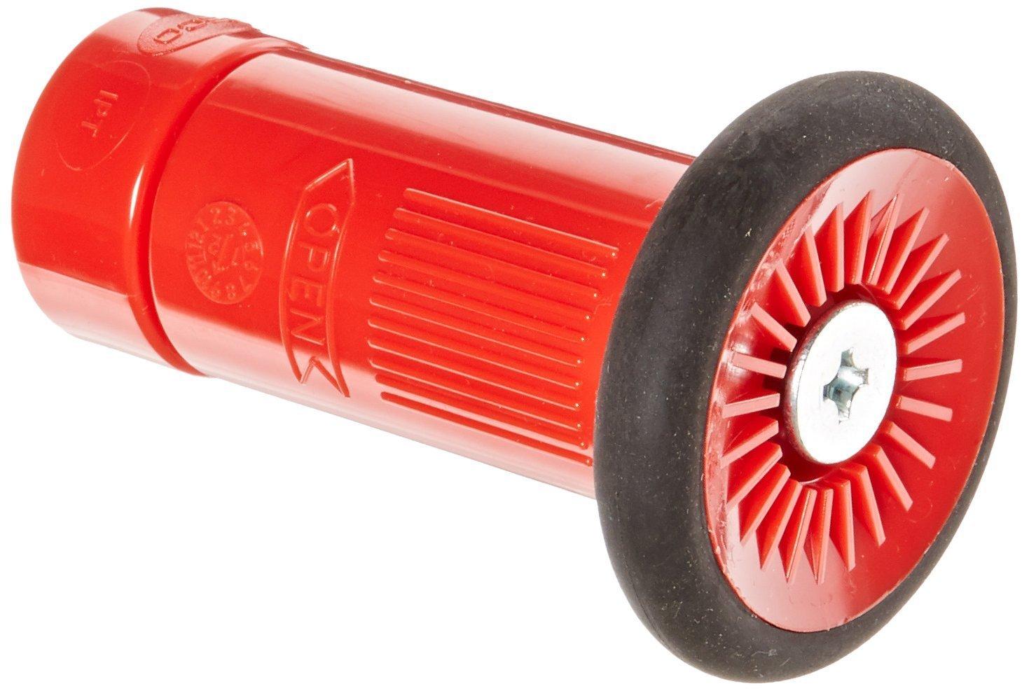 Dixon Valve HGB100S Polycarbonate Fire Equipment, Thermoplastic Fog Nozzle with Bumper, 1'' NPS