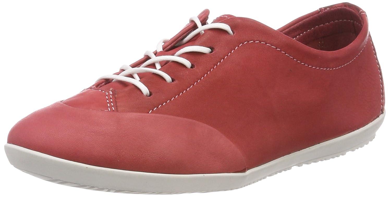Softinos Ops421sof Washed, Zapatos de Cordones Oxford para Mujer 38 EU|Rot (Red)