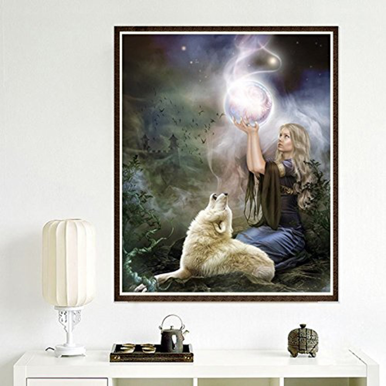 /Yee Stone DIY Crystal Strass bordado im/ágenes bordado Painting Diamond Painting/ 30/x 40/cm /para Home Wall D/écor lleno de broca 5d Diamante Painting/