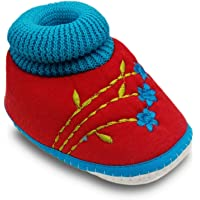 Tavish 6-15 Months Baby Shoes for Boy and Girl with Thick Dotted Anti-Slip Sole