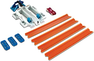 Hot Wheels Track Builder 2-Lane Launcher Playset
