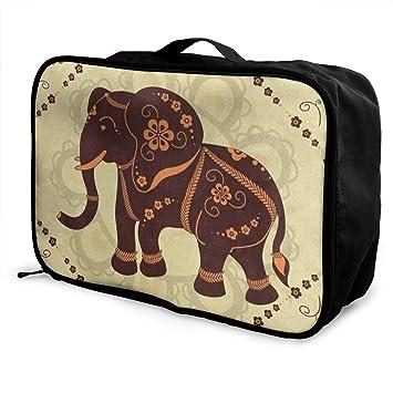 Amazon.com: Bolsas de viaje estilo vintage con diseño de ...