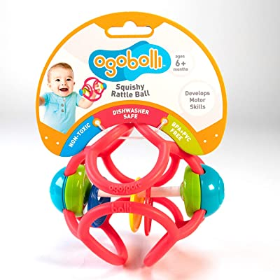 BOLLI Babies Infant and First Childhood BOLLIBolli Ratlle Violet, Multicolour (1): Toys & Games