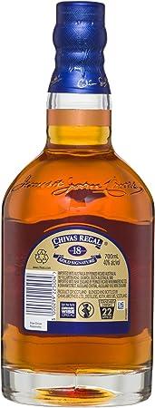 Chivas Regal 18 años Whisky Escocés de Mezcla Premium - 700 ml