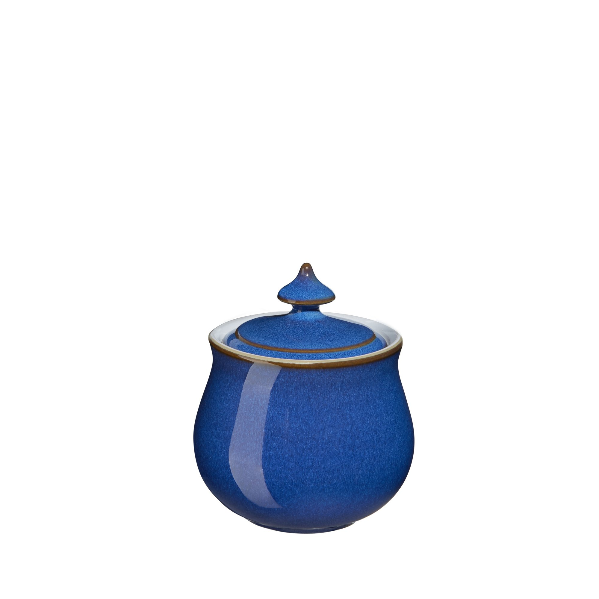 Denby Imperial Blue Covered Sugar