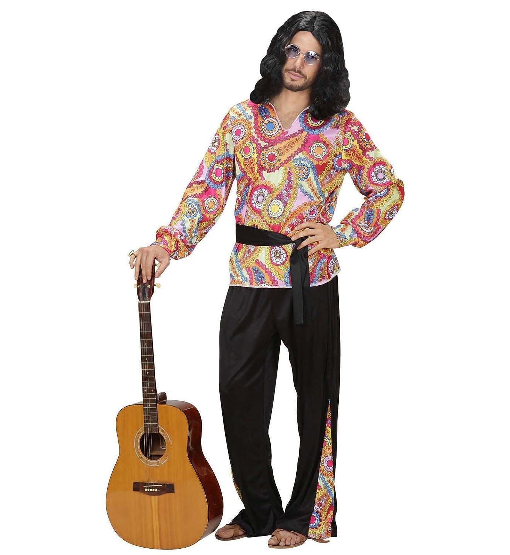 WIDMANN Widman - Disfraz de Hippie años 60s para Hombre, Talla M ...